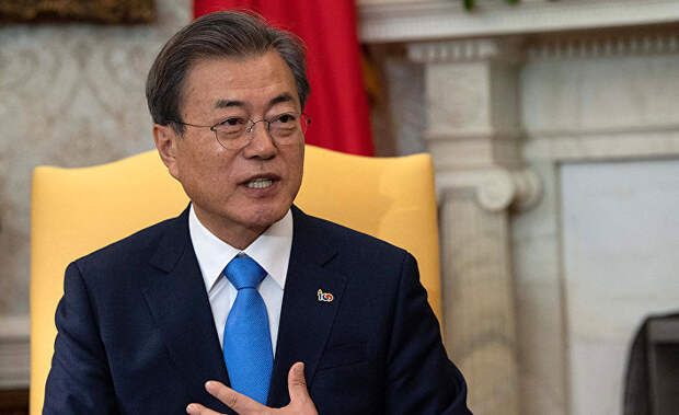 Южнокорейский президент Байдену: вот только без гамбургеров, пожалуйста! (Chosun Ilbo, Южная Корея)