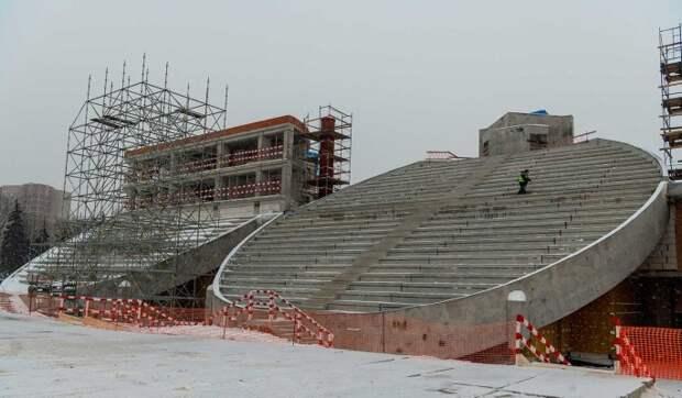 """Реконструкция стадиона """"Москвич"""" может завершиться раньше срока"""