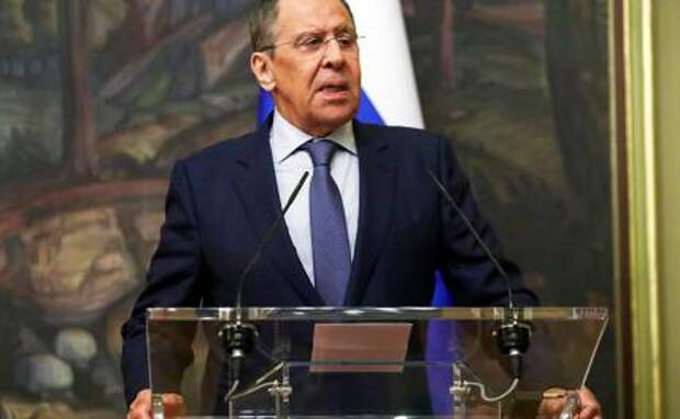 На фото: министр иностранных дел РФ Сергей Лавров