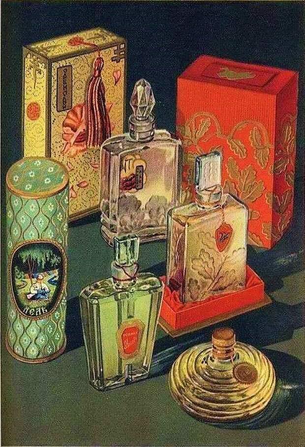 Прилавки с советской парфюмерией. Вот бы забежать туда минут на 10 с деньгами