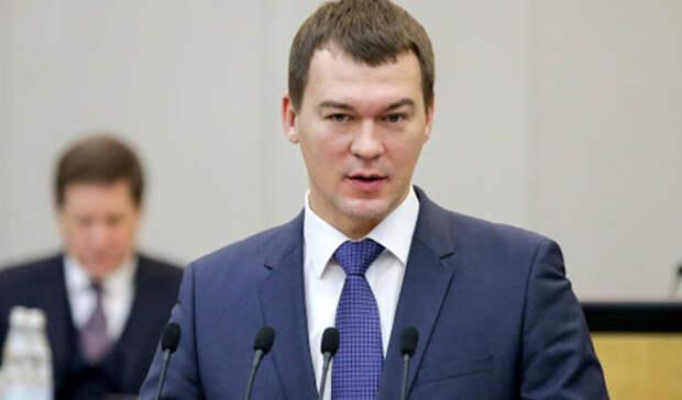Глава Хабаровского края Дегтярев рассказал освоевременном начале летней навигации