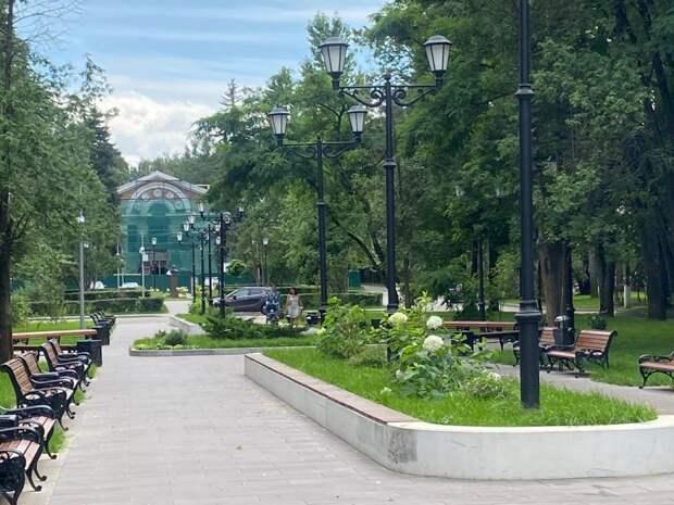 Сквер в Северном составит единый ансамбль с парком и культурным центром