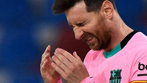 """Продление контракта с Месси не является приоритетом для """"Барселоны"""""""