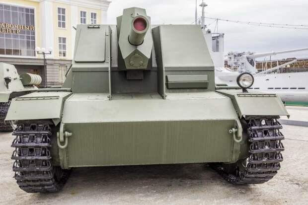 Конструкция САУ СГ-122, рассказы об оружии, страницы  истории
