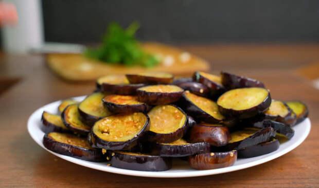 Маринованные баклажаны — закуска, перед которой невозможно устоять