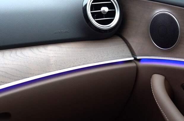 Mercedes-Benz E-Class 300 de: электро-премиум. Mercedes E-Class (W213)