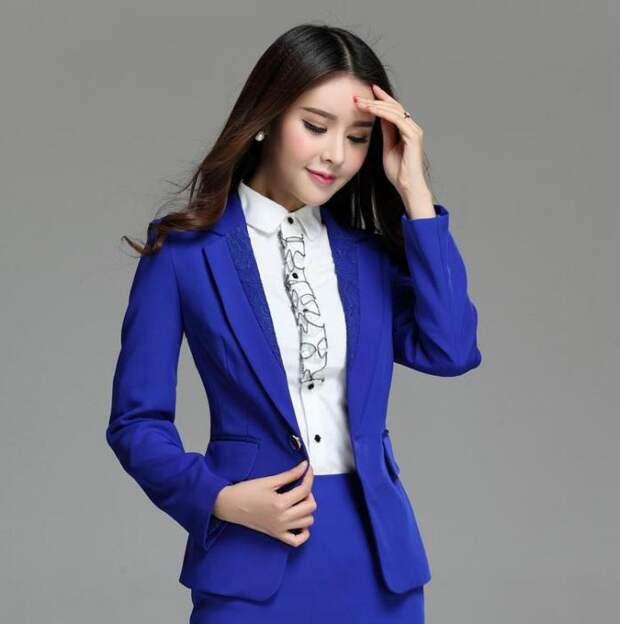 с чем носить синий пиджак мужской