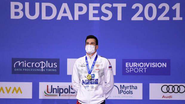 Триумф Малютина, золото в эстафете и мировой рекорд Колесникова: российские пловцы стартовали с побед на ЧЕ в Будапеште