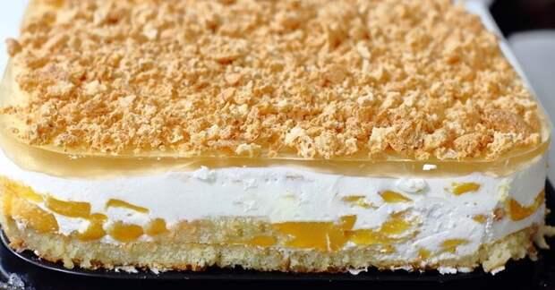 Йогуртовый десерт без выпечки - пошаговое приготовление