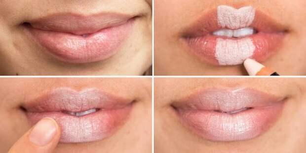 лайфхаки с губной помадой, как улучшить губную помаду