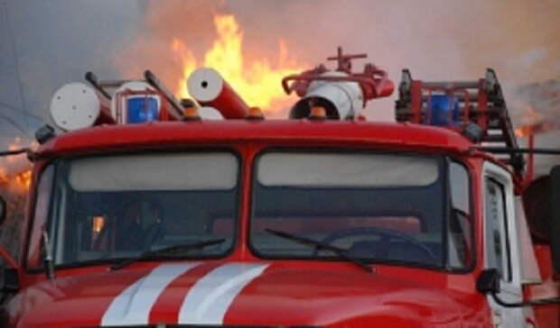 Под Оренбургом затушили два ландшафтных пожара
