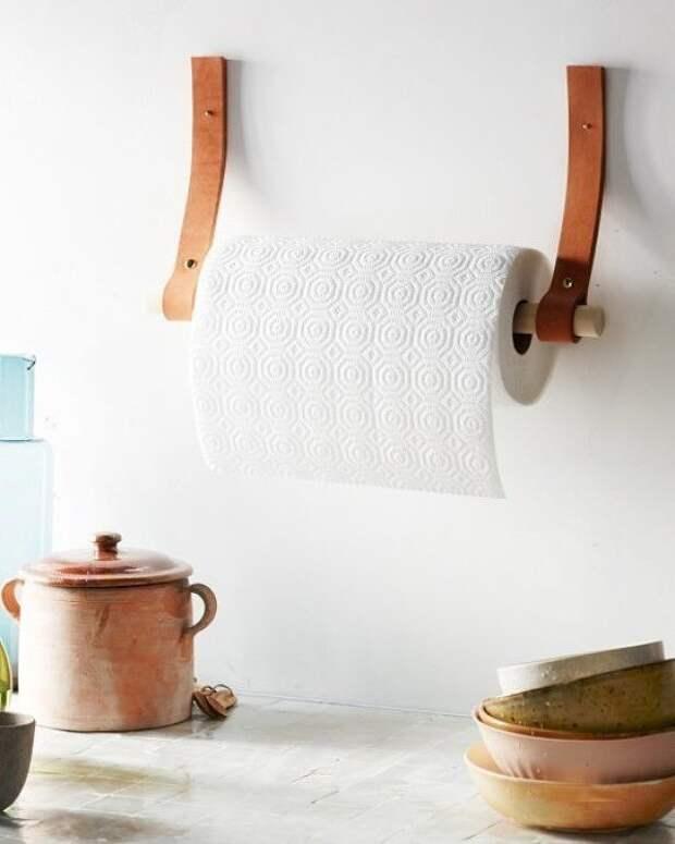 Как сделать держатель для кухонных полотенец