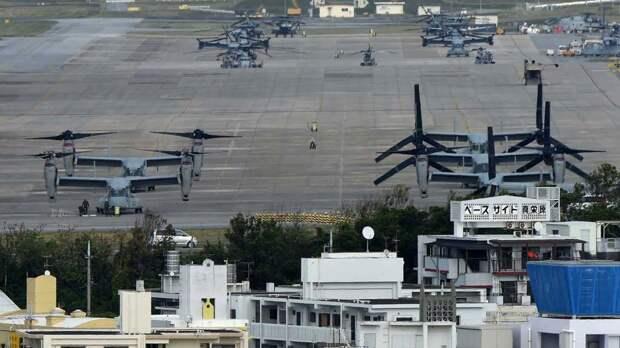 Американские военны базы в Японии. Источник изображения: https://vk.com/denis_siniy