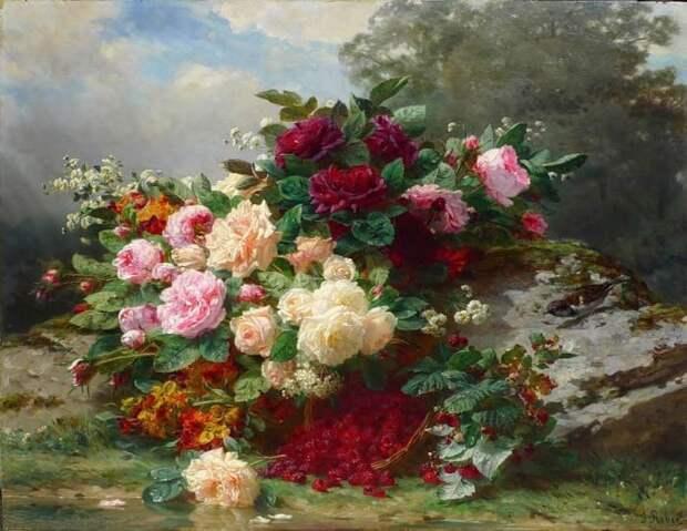 Розы в живописи. Завораживающая красота
