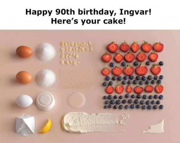 ИКЕА поздравляет своего 90-летнего основателя с ДР