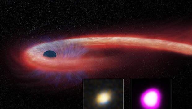 Астрономы открыли самую прожорливую черную дыру