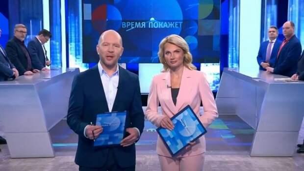 Анекдот Кузичева о Путине, Меркель и Польше произвел фурор в студии «Время покажет»