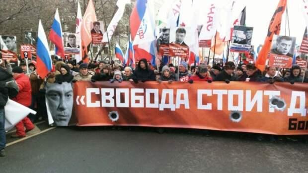 На акции памяти Бориса Немцова либералы собираются поднять в обществе новую волну возмущения
