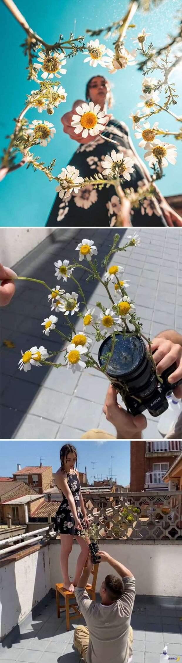 Секреты постановочных фотографий