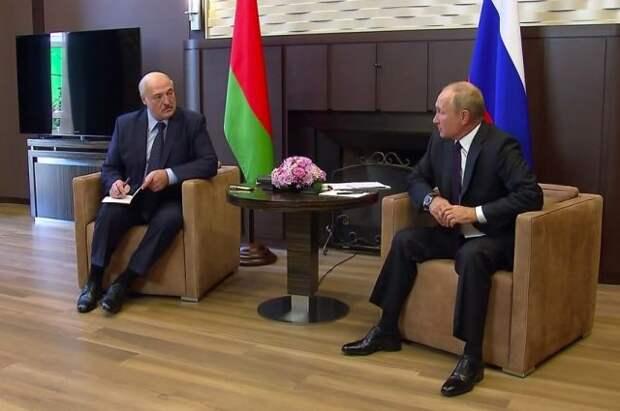Лукашенко рассказал, какие документы привез на встречу с Путиным