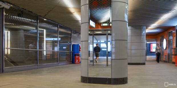 На станции МЦД «Стрешнево» появится зеркало