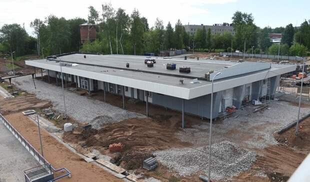 В Можге завершается строительство первого в Удмуртии транспортно-пересадочного узла