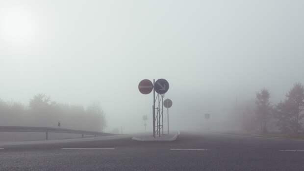 В Петербурге ночной ливень сменился сильным туманом