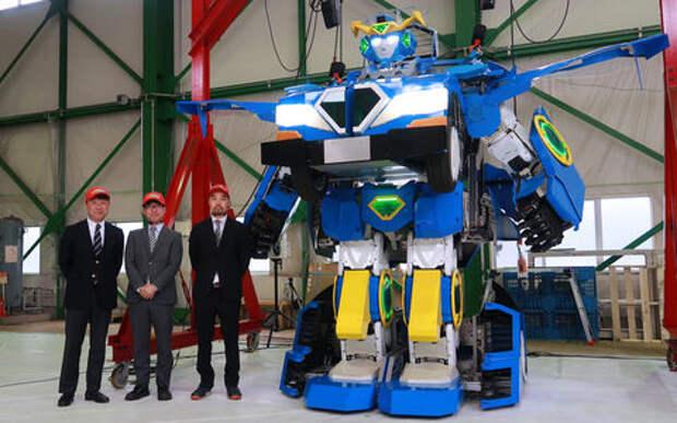Японцы создали робота-трансформера с задатками спорткара