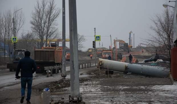 Ростовчане раскритиковали слишком быстрое строительство моста наМалиновского