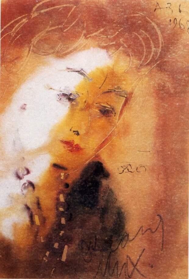 Анатолий Зверев, «Портрет О.М. Асеевой». / Фото: www.culture.ru