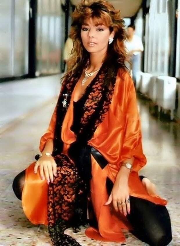 Сандра Анн Лауэр – культовая немецкая поп-певица 80-х.