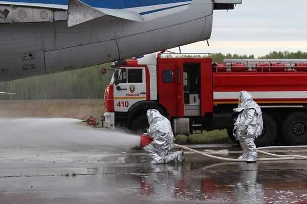 Учения прошли внижегородском аэропорту Стригино