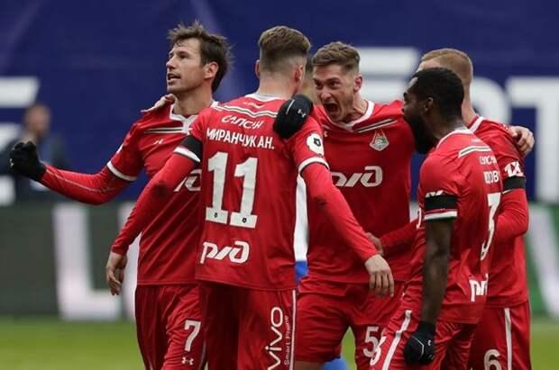 «Локомотив» одержал седьмую победу подряд в Российской премьер-лиге