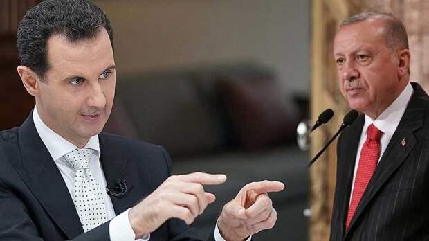 Башар Асад: Очевидно, что Эрдоган бросил все свои силы, конечно, по указке американцев
