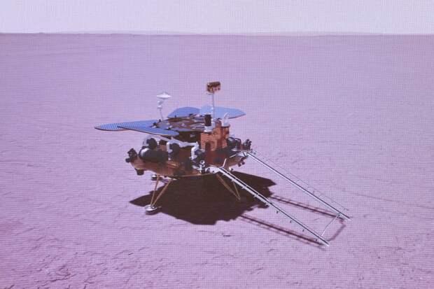 Китай впервые на Марсе. «Чжучжун» успешно совершил посадку