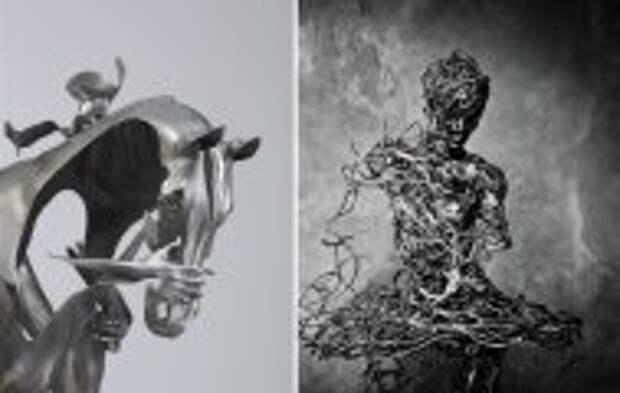 Art: Сюрреалистические скульптуры современных мастеров, которые доказывают, что фантазия не имеет границ