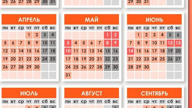 Роструд уточнил, как будут работать россияне на предстоящей неделе