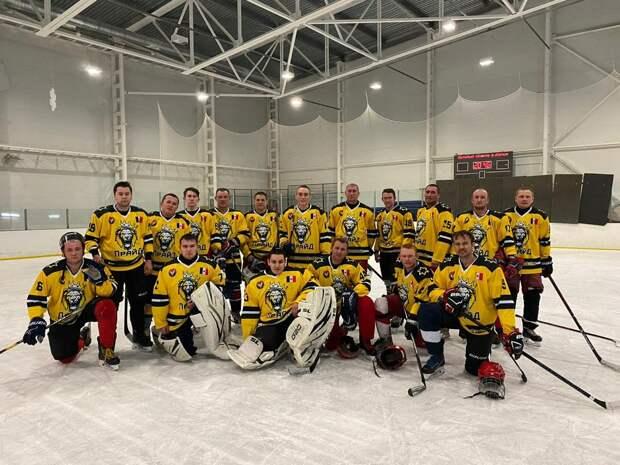 У Малопургинского района появилась своя сборная по хоккею