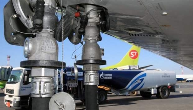 Газпром нефть заправка самолета