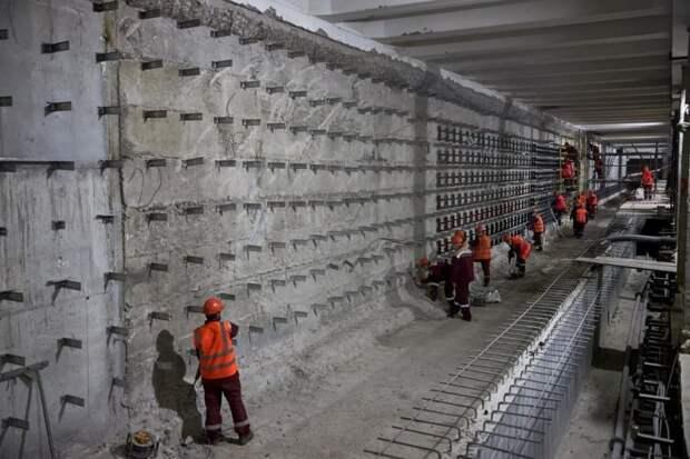 Собянин отметил значение будущей Большой кольцевой линии метро для Москвы и горожан. Фото: М. Денисов mos.ru