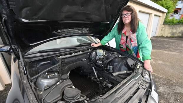 Автомастерская в Баден-Вюртемберге четыре года ремонтировали автомобиль, а затем вернула его без мотора