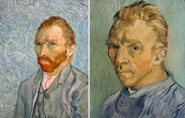 Портрет, обнаруженный под «Клочком травы» Ван Гога