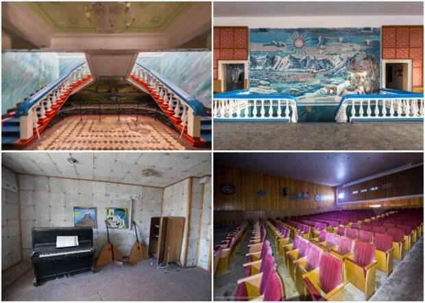 Дом культуры и театр принимал многих артистов, которые наведывались в этот суровый край.