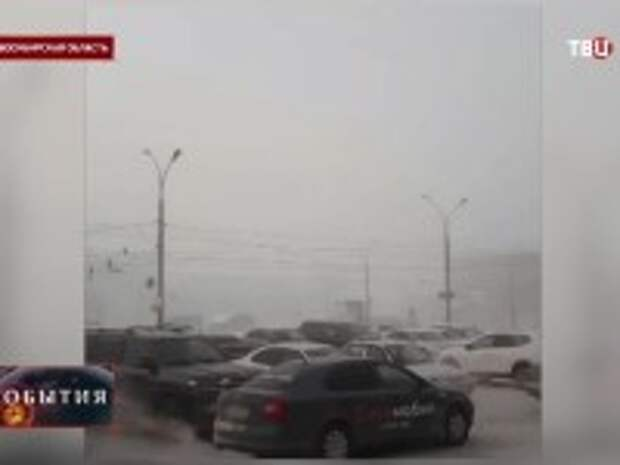 Аномальные морозы сковали сразу несколько регионов России (видео)
