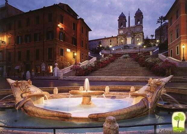 Испанская лестница в Риме - 138 ступеней восторга - 7