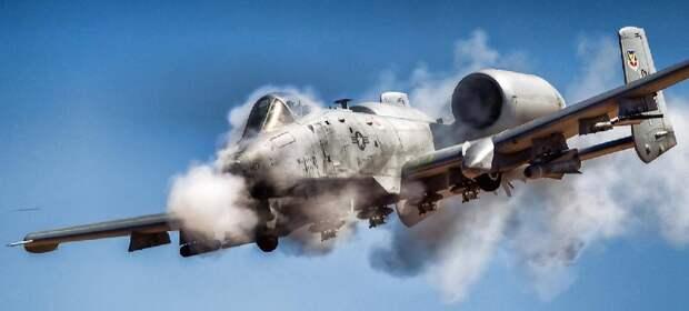 Американский летающий танк А10 thunderbolt II