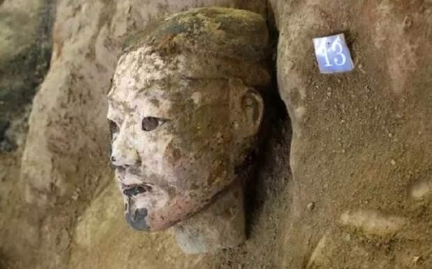 Обнаружены новые воины терракотовой армии первого императора Китая