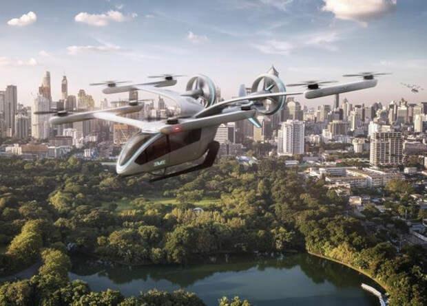Бразильцы занялись разработкой электрического аэротакси