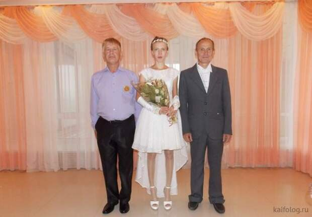 Свадебный беспредел (55 фото)