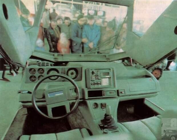 6 крутых фото самодельного советского Cybertruck